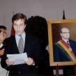 PresentationwordsatCasadeLaLibertad-Sucre,Bolivia
